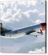 Boeing 737 Norwegian Air Acrylic Print