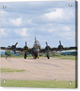 Boeing B-17 Flying Fortress Sally B Acrylic Print