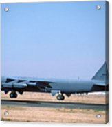 Boeing B-52g Stratofortress 59-2588 93rd Bomb Wing Castle Afb October 24 1993 Acrylic Print
