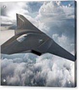 Boeing Next Gen Fighter Concept Acrylic Print
