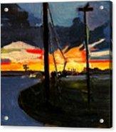 Bogardus Corner Acrylic Print