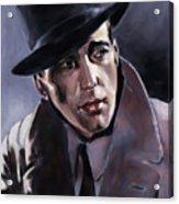 Bogart Acrylic Print
