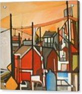 Bogota Industrial Acrylic Print