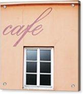 Bohemian Cafe- By Linda Woods Acrylic Print