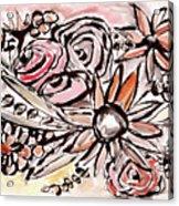 Bohemian Garden 1- Art By Linda Woods Acrylic Print