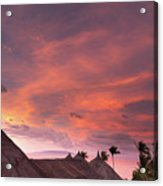 Bohol Sunset  Acrylic Print