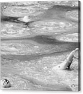 Boiling Mudpot - Artist' Paint Pots Yellowstone National Park Wy Usa Acrylic Print by Christine Till