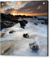 Boiling Tides Acrylic Print