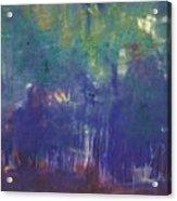 Bois De Boulogne Acrylic Print