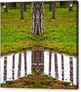 bois de Boulogne, Paris Acrylic Print