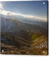 Boise Ridge Acrylic Print