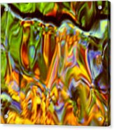Boisterous Bellows Of Colors Acrylic Print