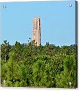 Bok Tower In December Acrylic Print