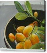 Bol De Kumquats Acrylic Print