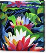 Bold Lilypads Acrylic Print