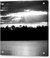 Bold Rays Monochrome Acrylic Print
