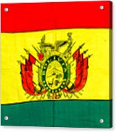 Bolivian Flag Acrylic Print