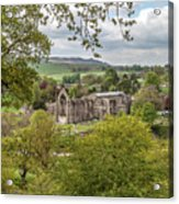 Bolton Abbey In Spring Acrylic Print