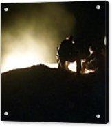 Bomb Crater Kandahar Acrylic Print