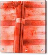 Bomb Of The Betrayal Acrylic Print