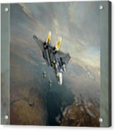 Bombcat Two Acrylic Print