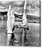 Bomber Attack Acrylic Print