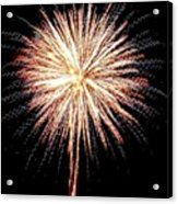 Bombs Bursting In Air Acrylic Print