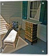 Bon Secour Lounge On The Porch Acrylic Print