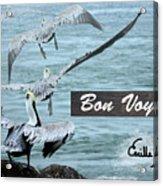 Bon Voyage Acrylic Print