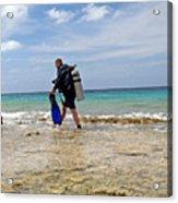 Bonaire Shore Diving 3 Acrylic Print