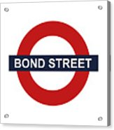 Bond Street Acrylic Print