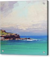 Bondi Beach Colours Acrylic Print