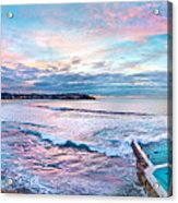 Bondi Beach Icebergs Acrylic Print