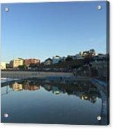 Bondi Wading Pool Reflections Acrylic Print