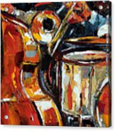 Bone Bass And Drums Acrylic Print