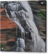 Bone Creek Falls Acrylic Print