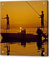 Bone Fishing Florida Keys Acrylic Print