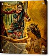 Bones In Hot Pursuit Acrylic Print