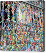Bonfim Wish Ribbons Acrylic Print