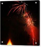Bonfire Night Acrylic Print