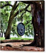Bonggggg Rip Van Winkle Gardens Paint  Acrylic Print