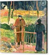 Bonjour Monsieur Gauguin Acrylic Print