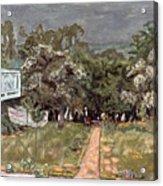 Bonnard: Balcony, 1909-10 Acrylic Print