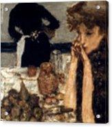Bonnard: Breakfast, C1899 Acrylic Print