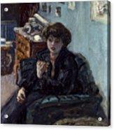 Bonnard: Lady, 19th C Acrylic Print