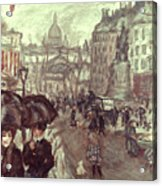 Bonnard: Place Clichy, C1895 Acrylic Print