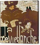 Bonnard Revue 1894 Acrylic Print