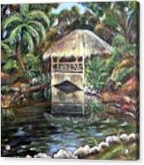 Bonnet House Chickee Acrylic Print
