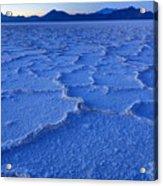 Bonneville Salt Flats At Dusk Acrylic Print