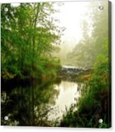 Bonneyville Mill Waterfall Acrylic Print